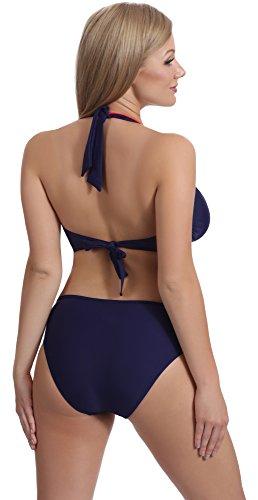 74rn24 Bikini Marino Merry Completo Style Donna Blu rosso wpZ4nIqT