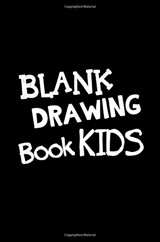 Blank Drawing Book Kids: 6 x 9, 108 Lined Pages (diary, notebook, journal, workbook)