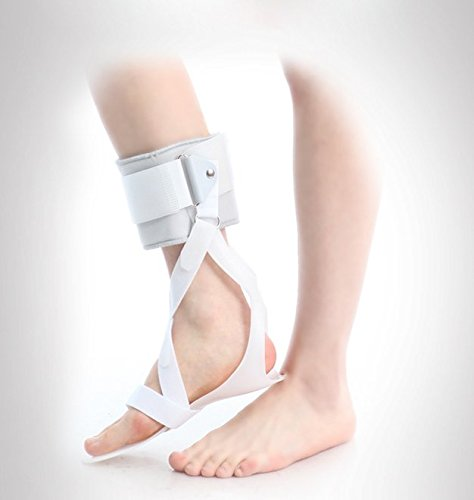 AFO Drop Foot Support Splint Ankle Foot Orthosis Support (Large/Left: 27.5cm length, 28cm height)