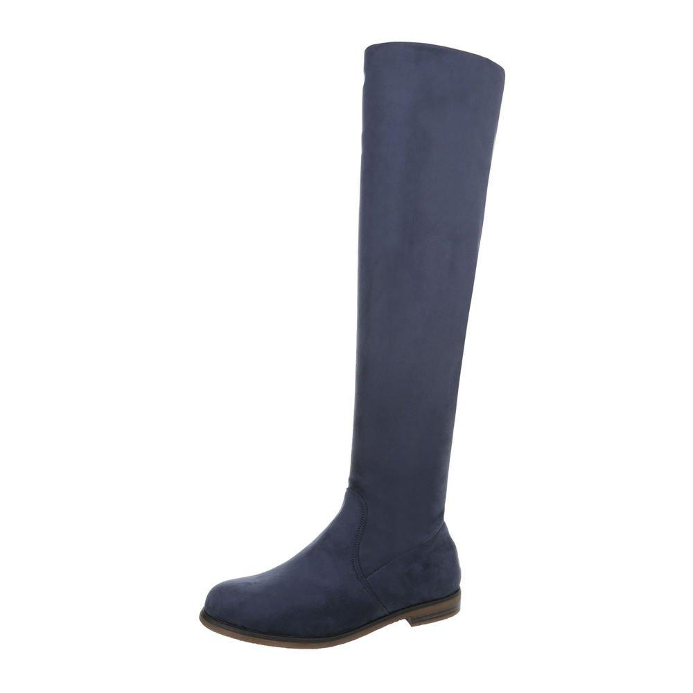 Damen Schuhe Overknee Overknee Overknee   Stiefel Blockabsatz   Langschaft Stiefel   Clubstiefel   Partystiefel Sexy   Gogostiefel elegant   von Größe 36-41 4613e8