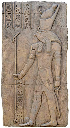 Egyptian Horus KOM Ombo Temple Sculptural Wall Relief www.Neo-Mfg.com ()