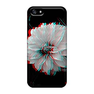 Iphone 5/5s Cases Covers Skin : Premium High Quality 3d Dahlia Cases Black Friday