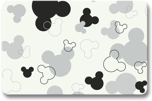 OKME Custom Alfombra Puerta,Alfombrilla de baño Alfombra Exterior Jardín Antideslizante Comodidad Mickey Mouse 40x60cm: Amazon.es: Hogar