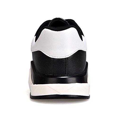 scarpe sportive Scarpe da corsa Scarpe da passeggio Scarpe da uomo traspirante Assorbimento degli urti Sport all'aria aperta Usura antiscivolo , Black , UK 6.5 / EU 39