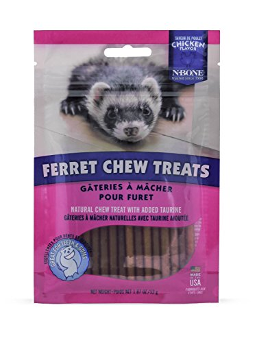 N-Bone Ferret Chew Treat, Chicken Flavor, - Chicken Ferret Treats