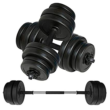 Body Revolution Vinilo Pesa & Pesas Juego - Ajustable Pesas Libres 10 Kg 15kg 20kg 30