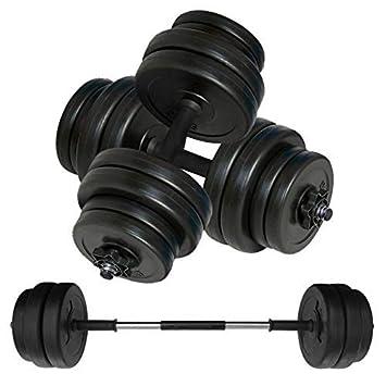 Body Revolution Juego de mancuernas y barra de halterofilia, peso ajustable 10 kg: Amazon.es: Deportes y aire libre