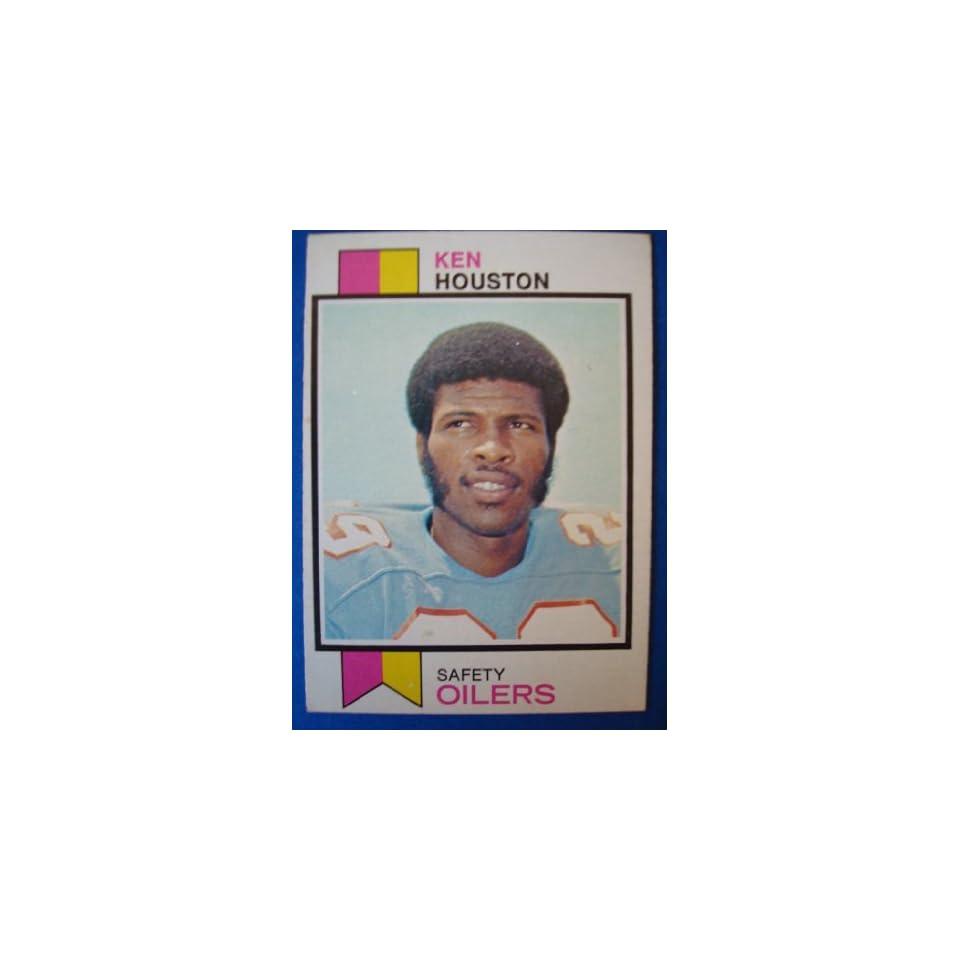 1973 Topps Football Trading Card Houston Oilers Ken Houston #415