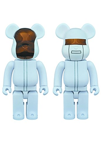 Medicom Daft Punk: 400% Bearbrick White Suits Version for sale  Delivered anywhere in USA