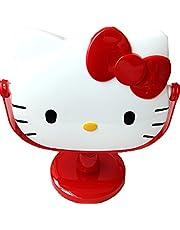 [Generic] Hello Kitty Cute Cartoon Rotation Dressing Table Bathroom Mirror Adult & Children Rotation Cosmetic Mirror FOR Makeup