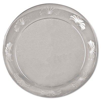 WNADWP75180 - WNA INC. Designerware Plastic Plates, 7 1/2 Inches, Clear, Round, 10/pack - Designerware Plastic Dinnerware