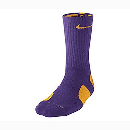 Nike Elite Basketball Crew Mens Style: SX3692-517 Size: M 2E US (Gold Nike Socks Elite)