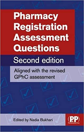 Pharmacy Registration Assessment Questions