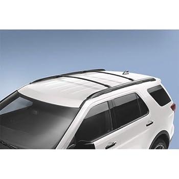 Ford GB5Z-7855100-AB Black Roof Rack Cross Bar, 2 Piece