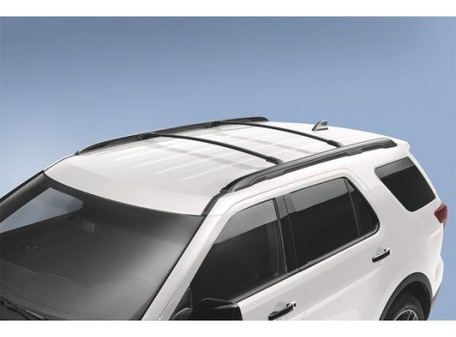 2016-ford-explorer-black-roof-rack-cross-bars-2-piece-set-oem-gb5z7855100ab
