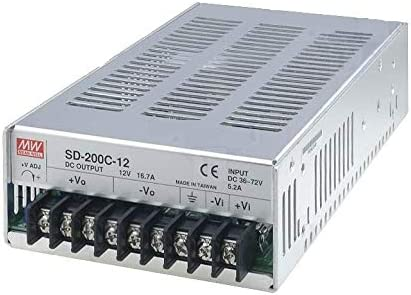 Isolated DC//DC Converters 200.4W 36-72Vin 12Vout 16.7A