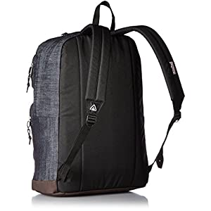 JanSport Houston Laptop Backpack- Discontinued Colors (Blue Denim - Expressions)