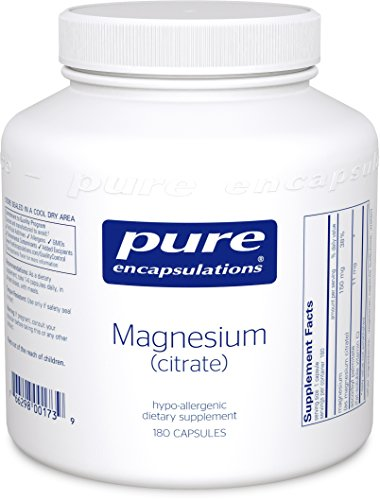 Pure Encapsulations - Magnesium (citrate) 180s (FFP)