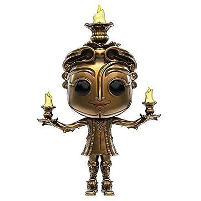 Funko POP Disney: Beauty & The Beast Lumiere Toy Figure: Artist Not Provided: Toys & Games [5Bkhe1006122]