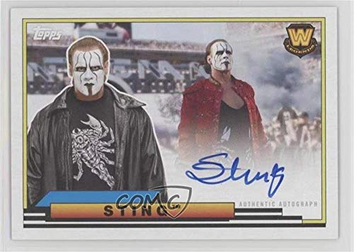 - Sting (Trading Card) 2018 Topps Heritage WWE - Big Legends Autographs #BLA-ST