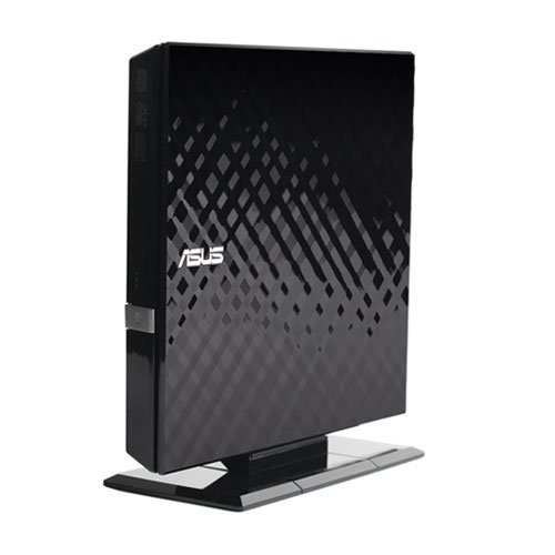 ASUS SDRW-08D2S-U/B/G/ACI/AS External DVD Drive Black