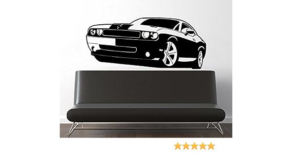 Dodge Demon Wall Decal Art Garage Logo Car Vinyl Wall Sticker Decor NL75