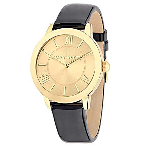 Miss Sixty Reloj Analógico para Mujer de Automático con Correa en Cuero R0751134501: Amazon.es: Relojes