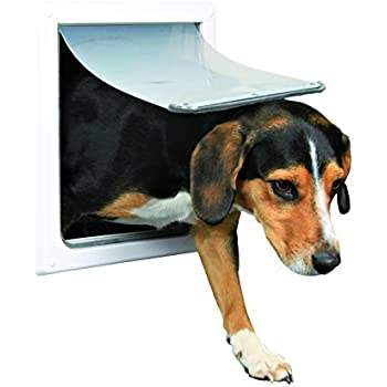 Amazon Trixie Pet Products 2 Way Locking Dog Door Small To