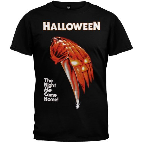 Halloween - Mens Night He Came Home T-shirt X-large Black