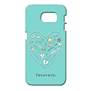 Samsung Galaxy S6 Phone Case,Gorgeous Fine Luxury Symbol Cover tiffy Pattern Phone Case 3D Hard Plastic Cover