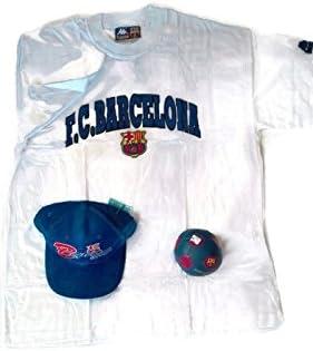 Pack FCBarcelona Vintage Gorra + Mini pelota + Camiseta XL + ...
