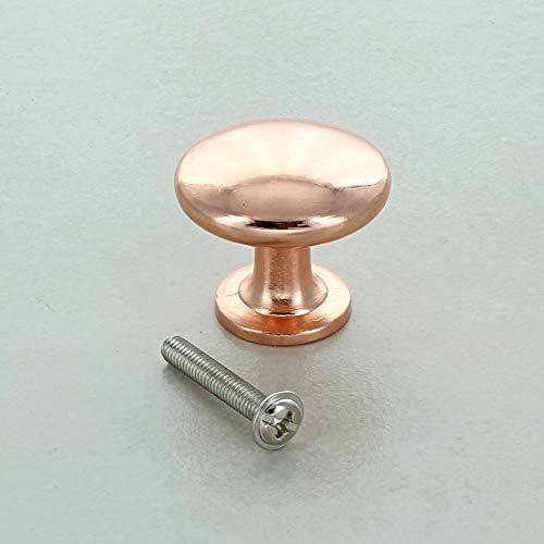 Cobre G Decor Pomo para Puerta de Armario Color Oro Rosa