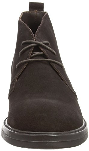 Lumberjack Boots Boots Bottines State Modã¨Le Couleur Marron Marque Ébène Bottines Marron qZaqw7