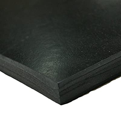 "Styrene Butadiene Rubber - (SBR) Rubber Sheet & Rolls - 1/4"" Thick"