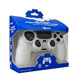 Tomee Silicone Skin Protective Case for PS4 Controller (White) by Tomee