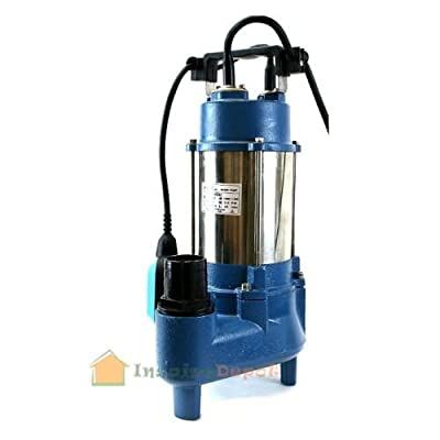 9TRADING Submersible Pump Sewage Pump 1.5HP Sub Water Plumping 7100GPM With 24' Cable, Free Tax, Delivered within 10 days