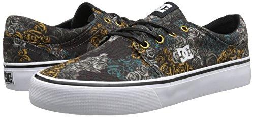 Femme Se Sneakers Kco Kco Schwarz camo Noir Dc Trase Shoes J Shoe Black Tx Basses Sn6xwFtqz