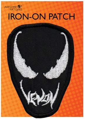 Venom Marvel Patches Embroidered Badge Sew//Iron on