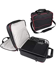 BUBM Waterproof Game System Case Bag,Travel Game System Carrying Case Storage Bag for System and Accessories-Fits Of Playstation 4 Pro/PS4 Slim/PS3/Xbox One/Xbox One S/Xbox 360