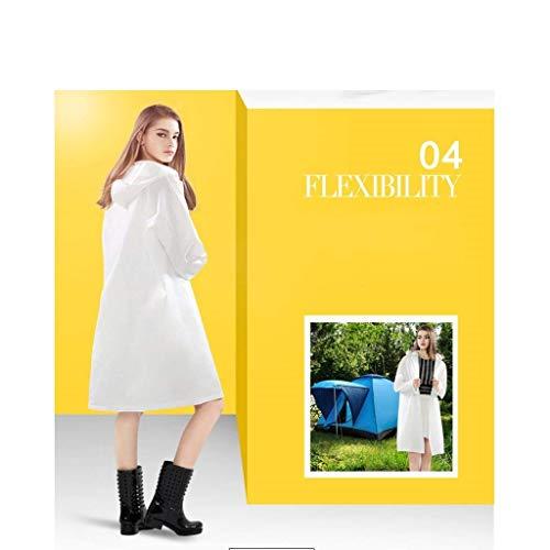 Fashion Trasparente Impermeabile Di Modo Turismo Giovane Del Poncho kiTPuwZOX