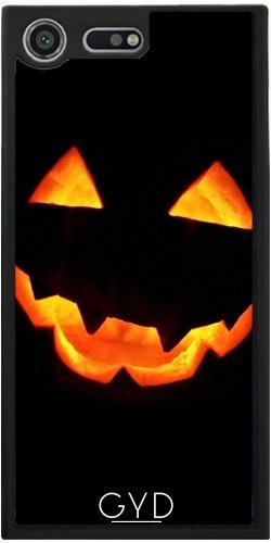 Funda Silicona para Sony Xperia XZ Premium - Calabaza De Halloween by hera56