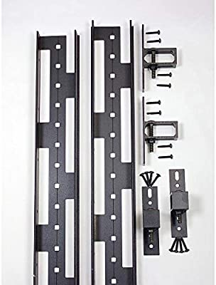 Slipfence 5 cm x 7,6 cm. Kit de barras de aluminio para valla de ...