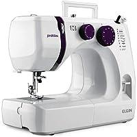 Maquina de Costura Pratika Elgin Branco / Roxa 110.0