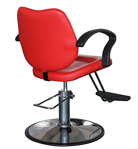 FlagBeauty Hair Beauty Salon Equipment Hydraulic Barber Styling Chair (red) by flag beauty (Image #4)