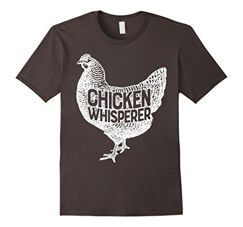 Mens Chicken Whisperer T Shirt Funny Farm Poultry Farmer Gifts Large Asphalt