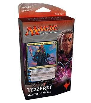 Magic the Gathering: Aether Revolt Planeswalker Deck - Tezzeret, Master of Metal (Includes 2 Booster Packs)