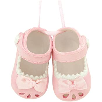 348d66d7a09 Amazon.com  Midwest-CBK Baby Girl Shoes Ornament Pink  Baby
