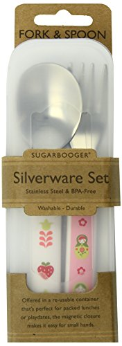Sugarbooger Silverware Set, Matryoshka Doll