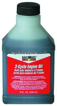 LubriMatic 11525 2-Cycle Oil for Air Cooled Engines, 8 fl. oz. Bottle, 8. Fluid_Ounces (Air Oil Cooled)