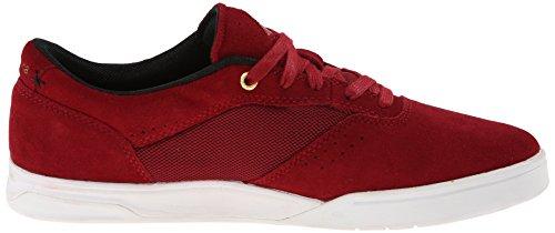 Emerica G6 6102000078 - Zapatillas de cuero para hombre Rojo/Blanco/Negro